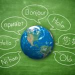 blackboard world speech bubles