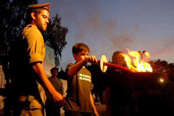 Israel_Memorial Day_IDF_torch