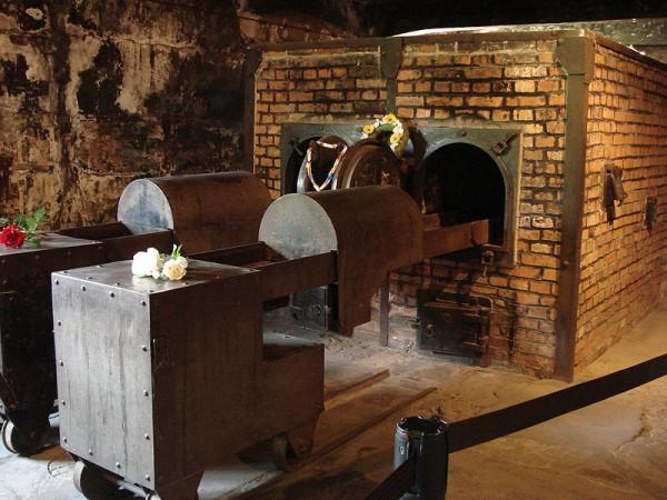 Crematorium memorial-Auschwitz