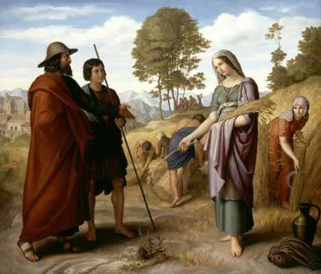 Julius Schnorr von Carolsfeld- Ruth im Feld des Boaz