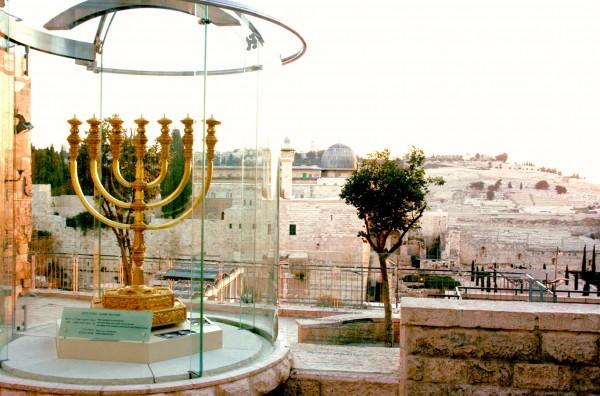 Golden Menorah-Temple Mount Institute