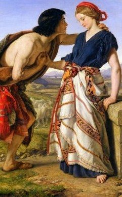 Jacob Meets Rachel at the Well, by William Dyce