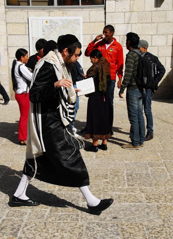 Jews-Gentiles-Streets of Jerusalem