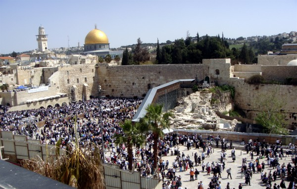 Western Wall-Dome of the Rock-Temple Mount
