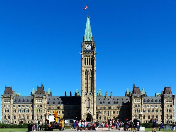 Centre Block-Parliament Hill-Ottawa-Canada