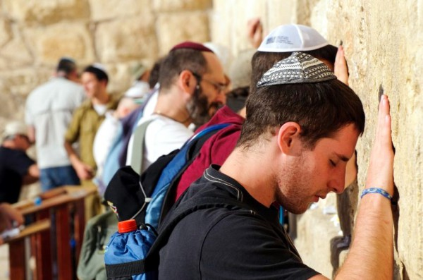 Jewish-praying-Wailing Wall