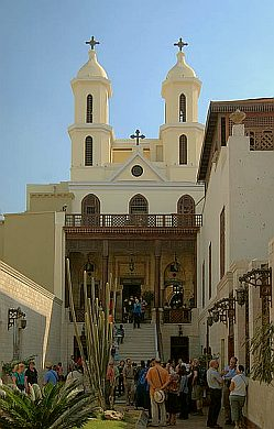 A church in Cairo