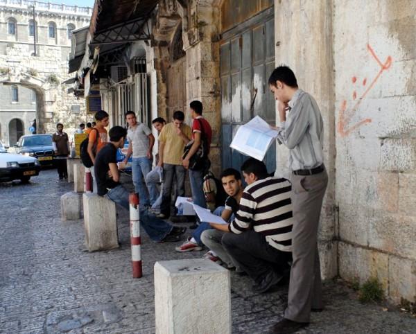 Arab-student-New Gate-Bab El-Jadid