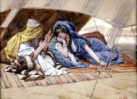 Abram's Counsel to Sarai-James Tissot