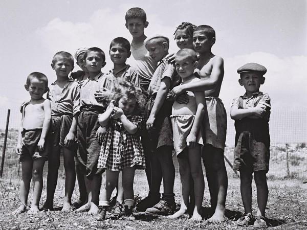 orphans_survivors_holocaust_reception camp_Atlit