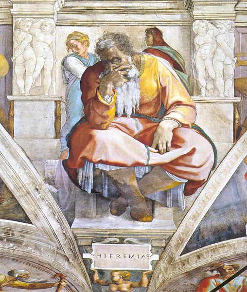 Jeremiah-cistine-chapel