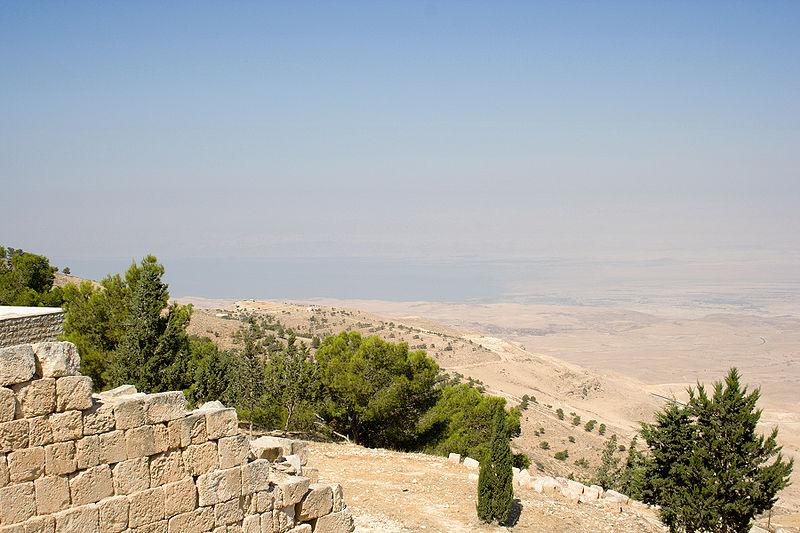 Mount Nebo-Dead Sea
