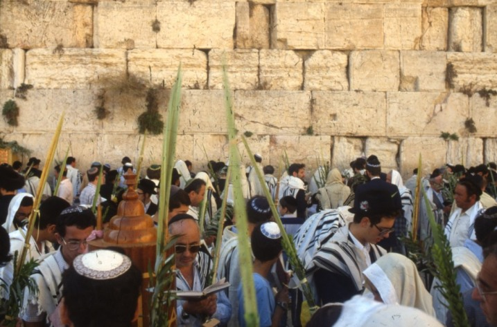 Israel_Sukkot_Western Wall_Jerusalem_crowds