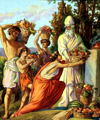 offering-Firstfruits-illustration-Bible card