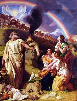 Noah's Sacrifice, by Daniel Maclise