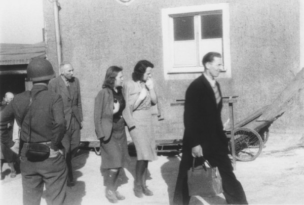 Buchenwald-Forced Confrontation-Concentration Camp
