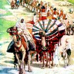 The Caravan of Abraham-James Tissot
