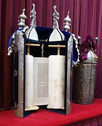 Torah Scroll-Torah Case-Tik