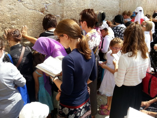 Women-Western Wall-Kotel