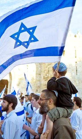 Boy-Fag-Jerusalem Day