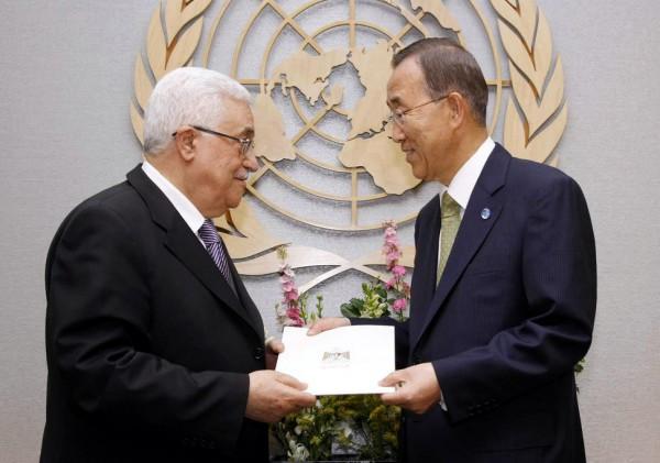 Ban Ki-moon_Abbas_Palestine_UN Member State_application