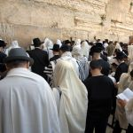 Jewish-Men-Praying-Kotel-Old City-Jerusalem