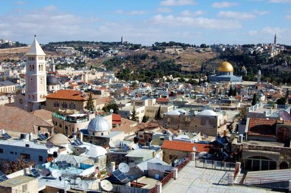 Mount-Olives-Golden Dome-Yeshua