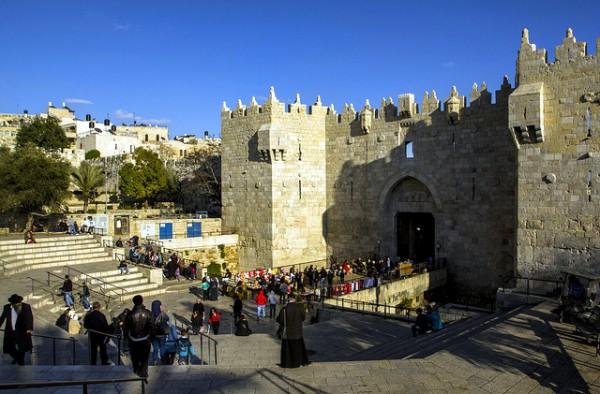 Damascus gate-Suleiman