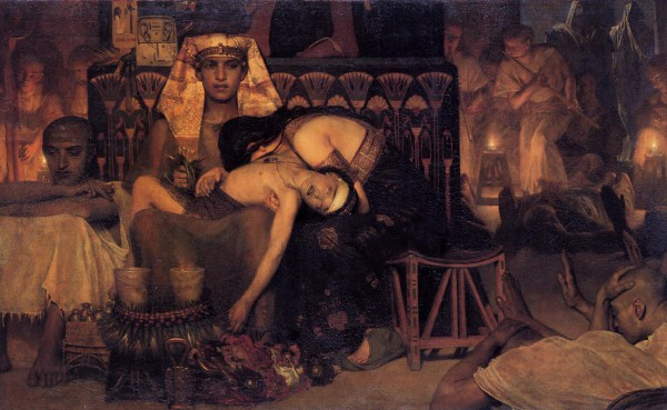 Death of the Pharaoh-firstborn-son-Lawrence Alma-Tadema
