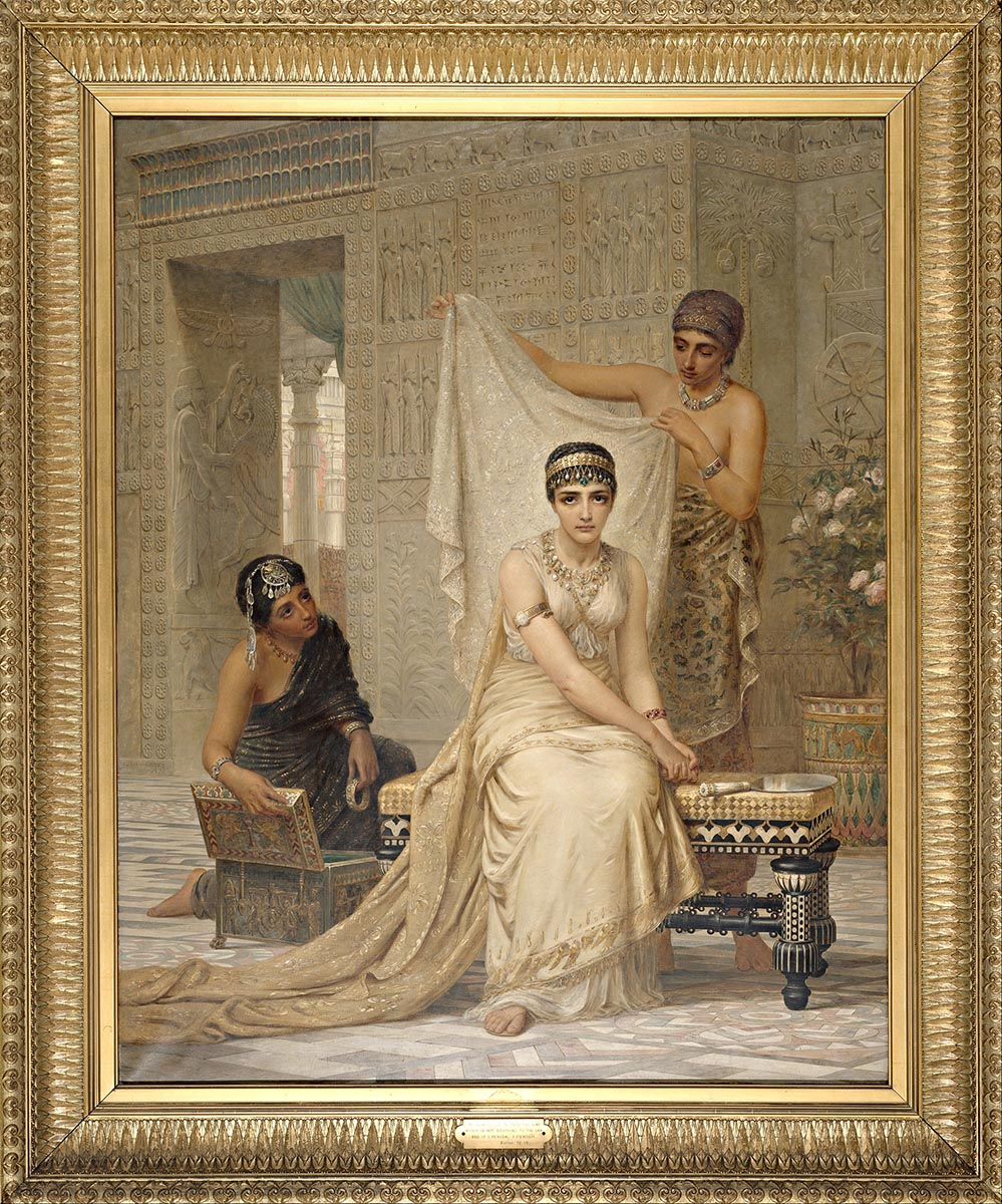 Queen Esther (1878), by Edwin Long