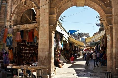 Jerusalem Market-Christian Quarter