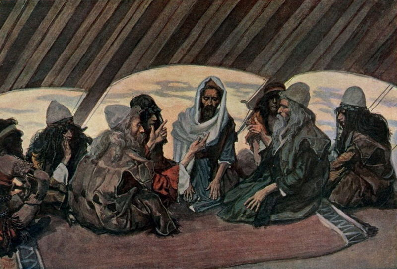 Jethro and Moses-James Tissot
