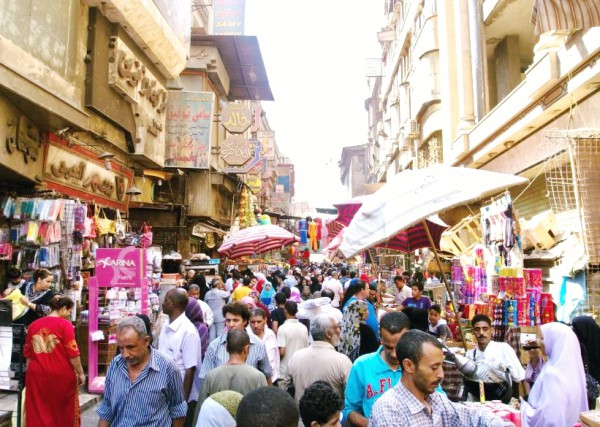 Khan El Khalili-bazaar-Cairo