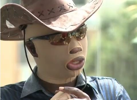 Umar Mulinde-Special mask