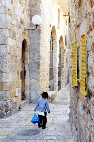 Jerusalem-Jewish-Quarter-Child