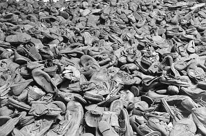 Shoes-Auschwitz-Concentration camps-Heinous slaughter-Holocaust