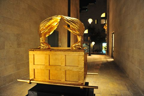 Replica-Ark of the Covenant-Mamilla