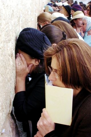 women's section-Kotel-Western (Wailing) Wall-Jerusalem