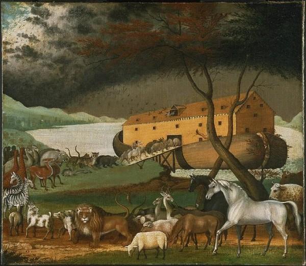 Noahs Ark, by Edward Hicks