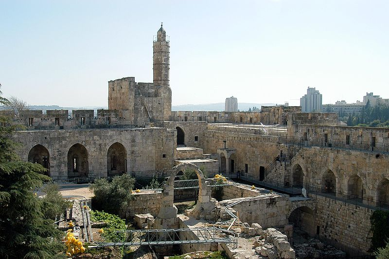 Tower of David-Archaeological Gardens-Jerusalem