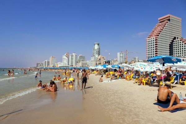 Tel Aviv-beach-seashore