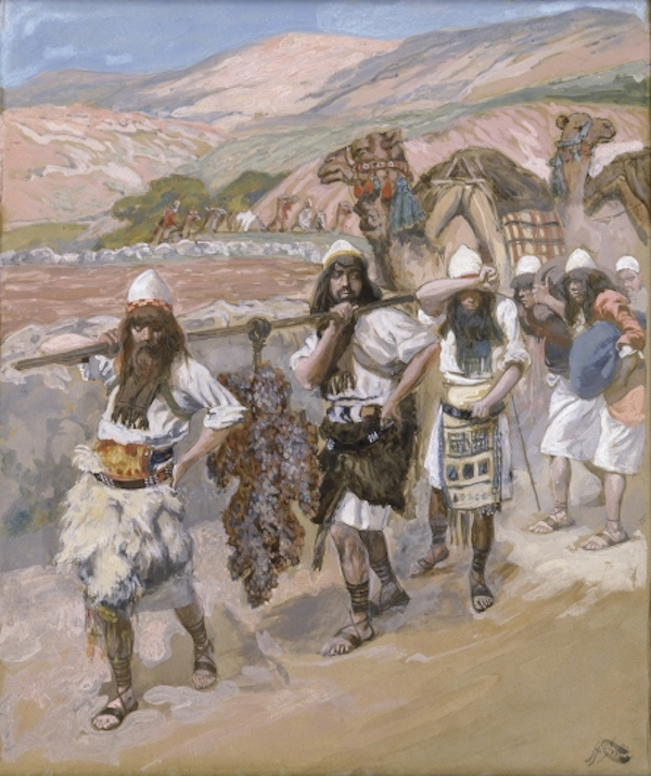 The Grapes of Canaan-James Tissot- Jewish Museum