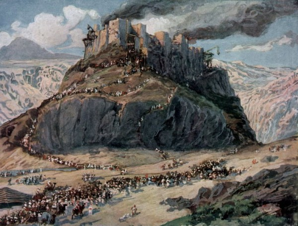 The Conquest of the Amorites-James Tissot