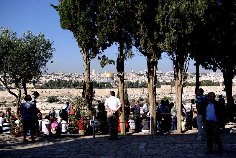 View-Temple Mount-Mount of Olives