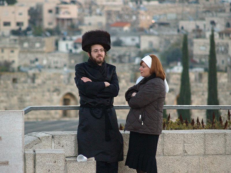 Orthodox Couple-Shabbat-Jerusalem