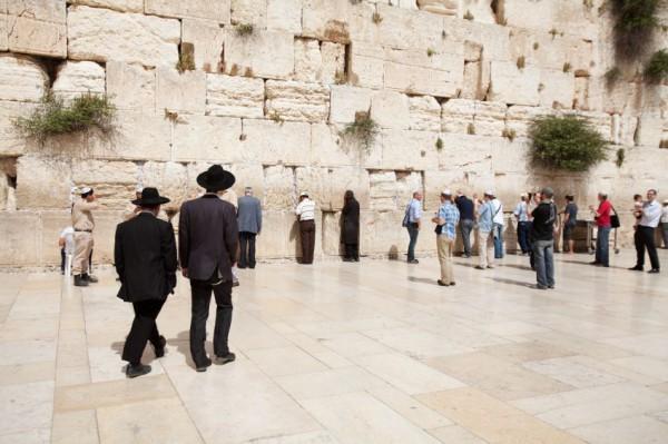 men's section-Western Wall-Kotel