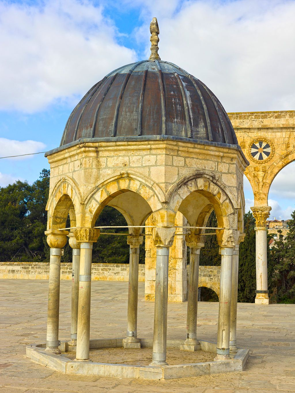 The Dome of the Spirits-Tablets-Dome of the Rock.