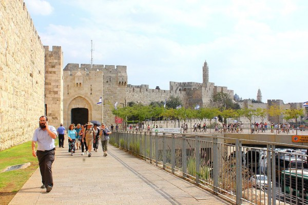 Jerusalem-Jaffa Gate-Tower of David