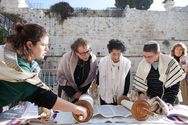 Torah Reading-Temple Mount-Jerusalem