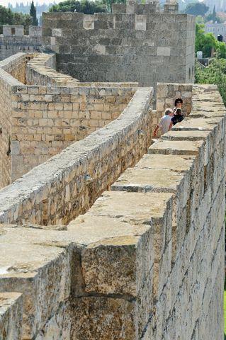 Old City-Jerusalems-Ramparts